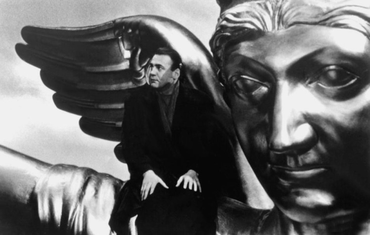 WINGS OF DESIRE, (aka DER HIMMEL UBER BERLIN), Bruno Ganz, 1987.