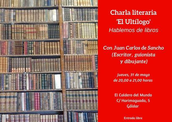 CArtel Ultílogo Juan Carlos de Sancho