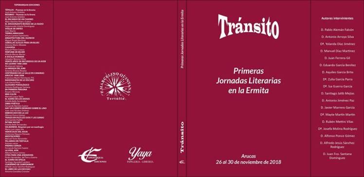 libro Transito portada