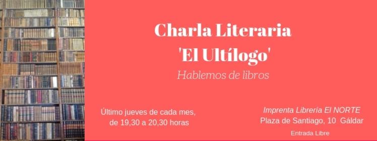 Charla Literaria 'El Ultílogo'