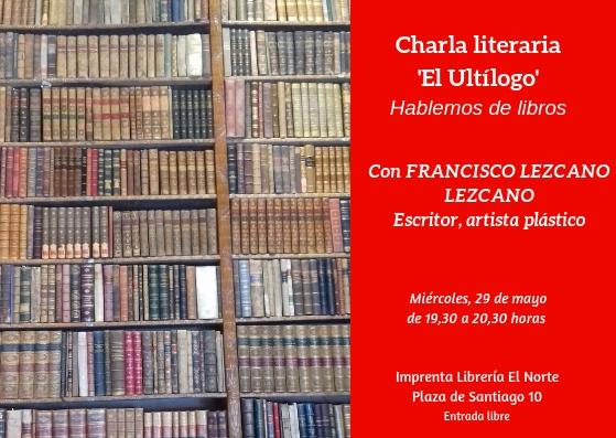 'Ultílogo', charla literaria (8)