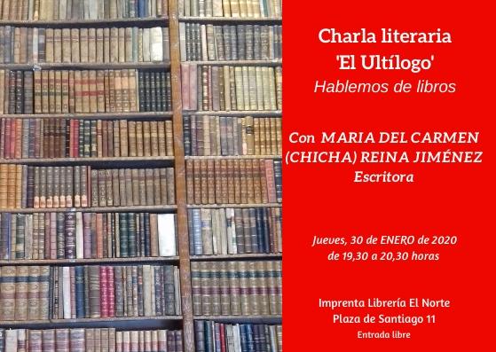 'Ultílogo', charla literaria (16)
